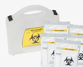 Biohazard Clean Up Kits