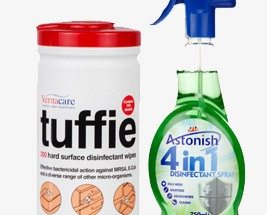 Surface Wipes & Disinfectants