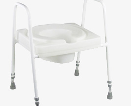 Toilet Frames & Seats With Arms