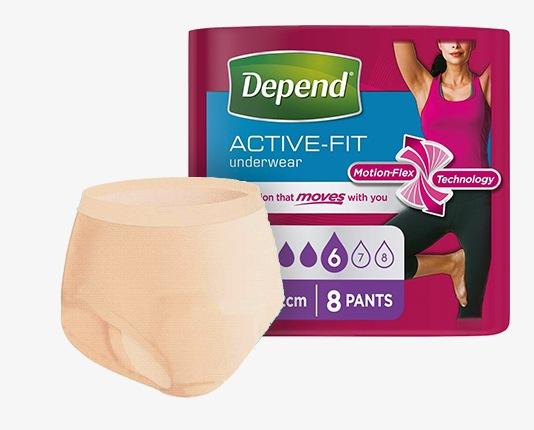 Depend Active-Fit for Women