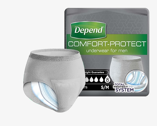 Depend Comfort-Protect for Men