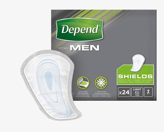 Depend Pads for Men