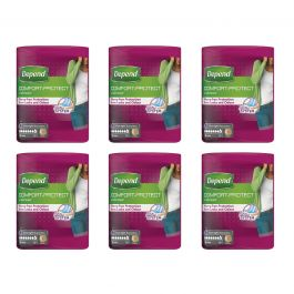 Case Saver 6x Depend Comfort-Protect for Women Large (1360ml) 9 Pack