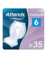 Attends Contours 6 (1250ml) 35 Pack - mobile