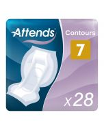 Attends Contours 7 (1500ml) 28 Pack - mobile