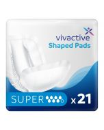 Vivactive Shaped Pads Super (2350ml) 21 Pack - mobile