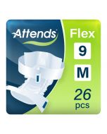Attends Flex 9 Medium (2100ml) 26 Pack - mobile