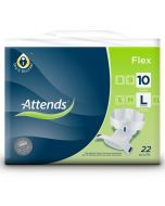 Attends Flex 10 Large (3850ml) 22 Pack