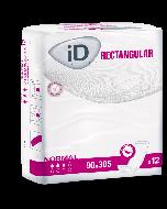 iD Expert Rectangular Booster Pad 330ml - Pack of 12
