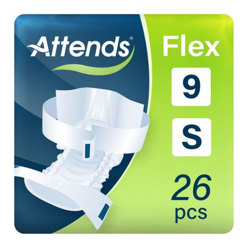Attends Flex 9 Small (1700ml) 26 Pack - mobile