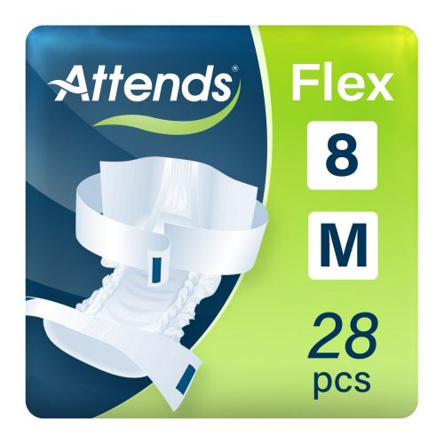 Attends Flex 8 Medium (1700ml) 28 Pack - mobile