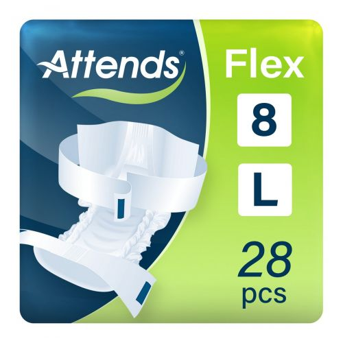 Attends Flex 8 Large (1700ml) 28 Pack - mobile