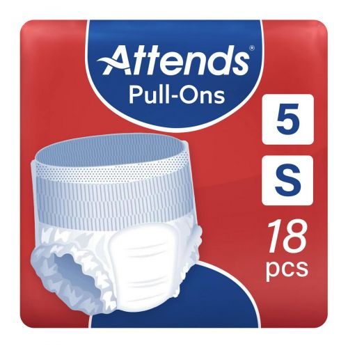 Attends Pull-Ons 5 Small (1300ml) 18 Pack - mobile