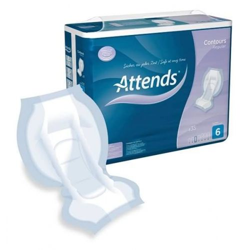 Attends Contour 6 (Heavy Incontinence) Pack of 35
