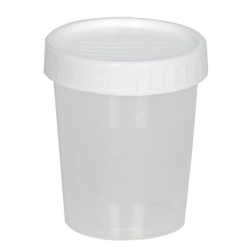 Urine Sample Pot with Lid - 100ml