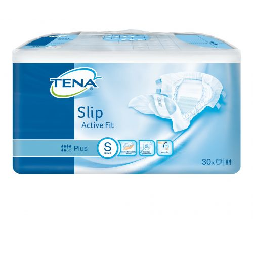TENA Slip Active Fit Plus Small (1730ml) 30 Pack