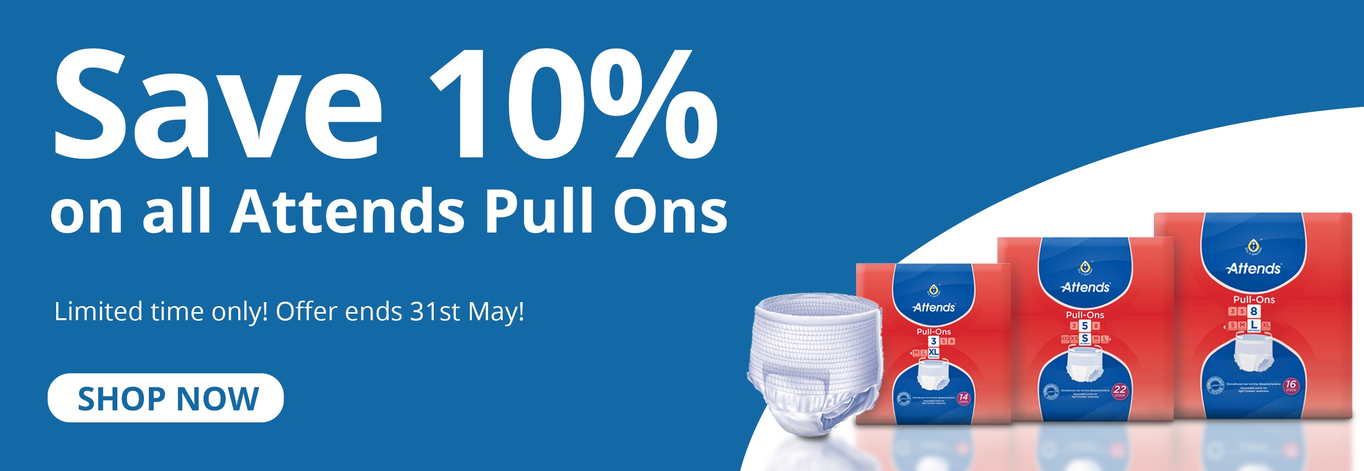 10% Off Attends Pull-Up Pants