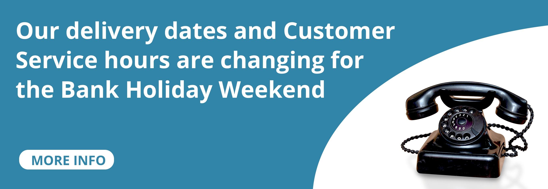 Bank Holiday Information