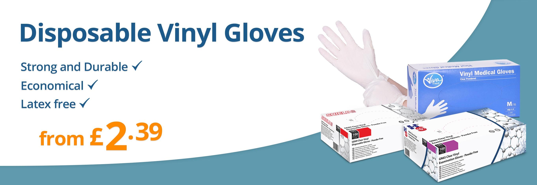 Vinyl Gloves from £2.39
